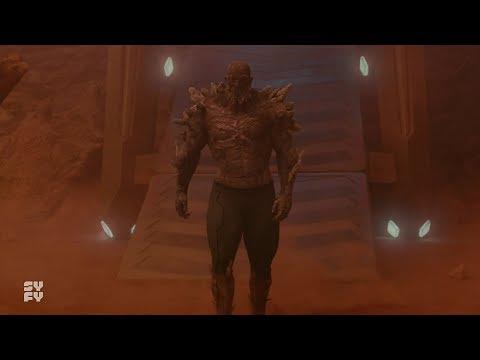 Krypton Season 2 Episode 9   S2 E9 Doomsday Vs Seg Army Blood Fight