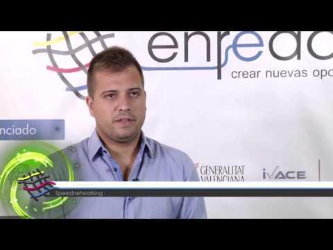 José Manuel Esclápez. Secretario de AESEC en #EnredateElx 2014