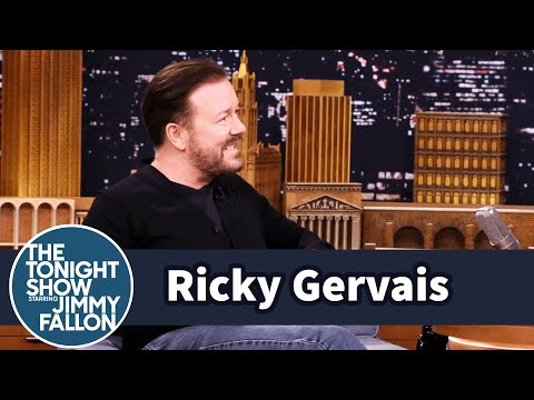 Ricky Gervais Is Returning to Stand-Up
