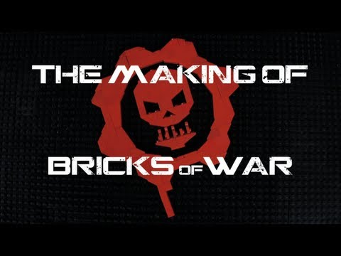 0 Kooberz Studios   Bricks of War LEGO Animation | LEGO Meets Gears of War 3