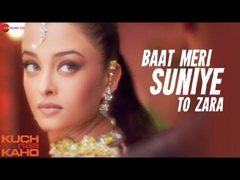Baat Meri Suniye To Zara - Full Video | Kuch Naa Kaho | Abhishek Bachchan & Aishwarya Rai Bachchan