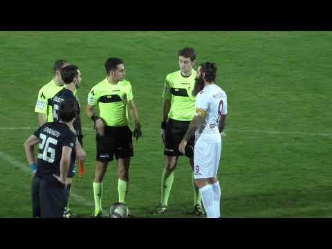 Viterbese-Arezzo 2-0, immagini dagli spalti