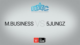 5Jungs vs mBusiness, game 1
