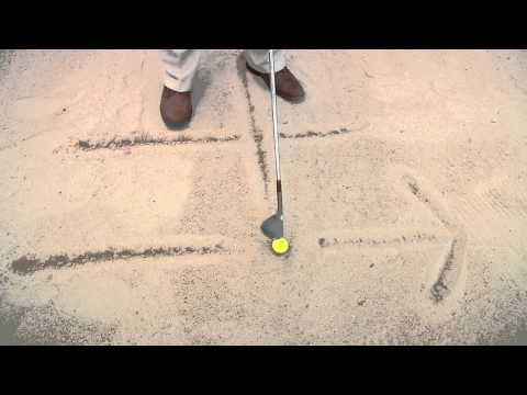 Professional Golf Tip: How to Hit Bunker Shots