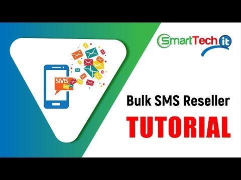 Bulk SMS Reseller Tutorial in SmartTech IT