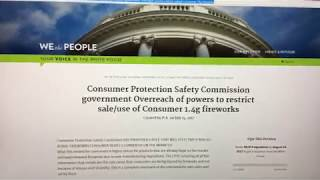 https://petitions.whitehouse.gov/petition/consumer-protection-safety-commission-government-overreach-powers-restrict-saleuse- ...