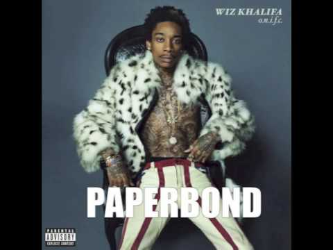 Wiz Khalifa - Paperbond w/ Lyrics [ONIFC] 2013