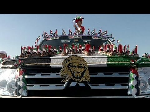 Dubai: Hundreds of drivers take part in decorated car parade for National Day - no comment