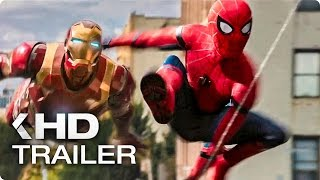 First International Spider Man: Homecoming Trailer