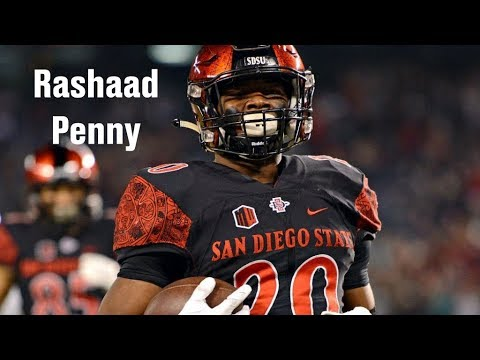 Film Room: Rashaad Penny's fit with the Seattle Seahawks (NFL Draft 2018 Ep. 17) (видео)