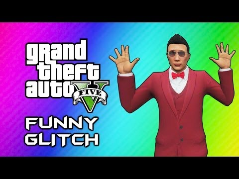GTA 5 Online Invincible Paralyzing Glitch (Funny Moments, Messing w/ Random People)