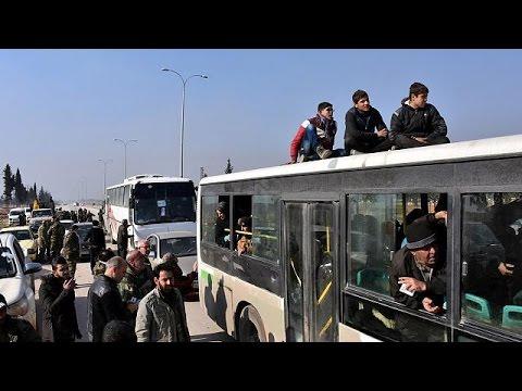 Μετ' εμποδίων η εκκένωση του Χαλεπίου