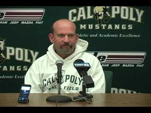 Cal Poly Cross Country Head Coach Mark Conover