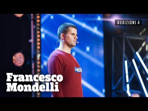 francesco, il calcolatore umano di italia's got talent