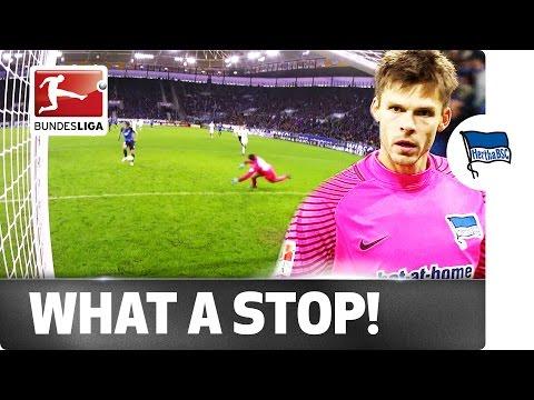 Berlin Keeper Jarstein Makes Stunning Last-Ditch Save