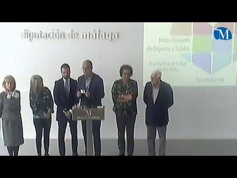 Presentación de la Iniciativa de la Diputación Provincial y Trasplantes Málaga para promover la donación de órganos en la provincia