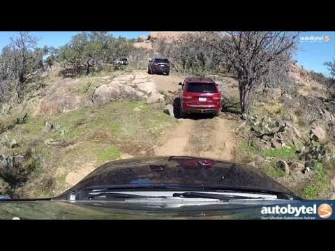 Jeep Grand Cherokee Off-Road Hill Ascent Demonstration