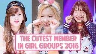 Video [TOP 10] The Cutest Member in K-Pop Girl Groups 2016 MP3, 3GP, MP4, WEBM, AVI, FLV Maret 2018