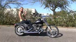 8. 2009 Harley Davidson Softail Night Train for sale