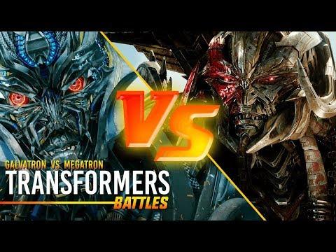 Transformers: Galvatron vs Megatron (Decepticon Battle)