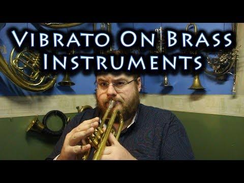 Vibrato on Brass Instruments