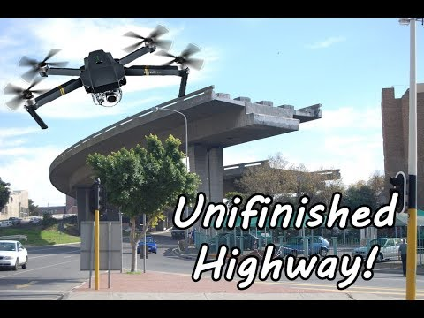 Cape Town's Unfinished Highways (Foreshore Bridge) | I almost got robbed!