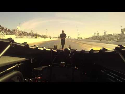 Take a THRILL ride in Top Fuel dragster