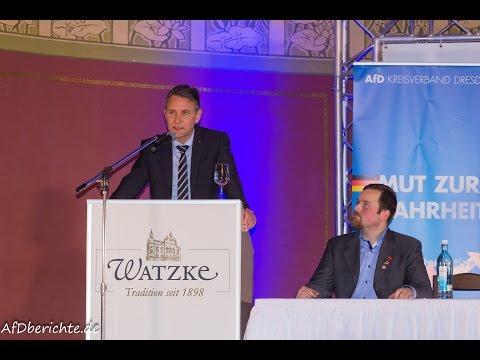 AfD: Rede von Björn Höcke in Dresden live bei der J ...