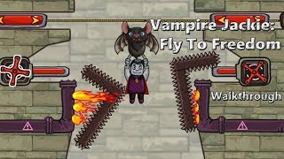 Help Vampire Jackie find his way to freedom! Play at http://www.pacogames.com/logic/vampire-jackie-fly-to-freedom/en. Vampire Jackie would like to fly so muc...