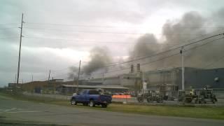 Massena (NY) United States  City pictures : Fire At Massena New York Aluminum Company Of America Plant