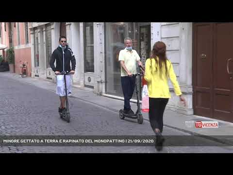 MINORE GETTATO A TERRA E RAPINATO DEL MONOPATTINO | 21/09/2020