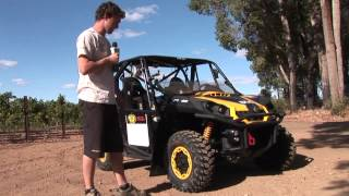 3. Can am X Team Commander 1000 Rally Spec review