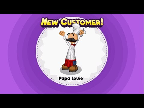 Papa's Pancakeria HD - Unlocking Papa Louie!