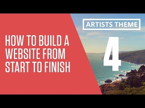 How to Build a Responsive Website From Start to Finish - Coding the Header and Footer - part 4