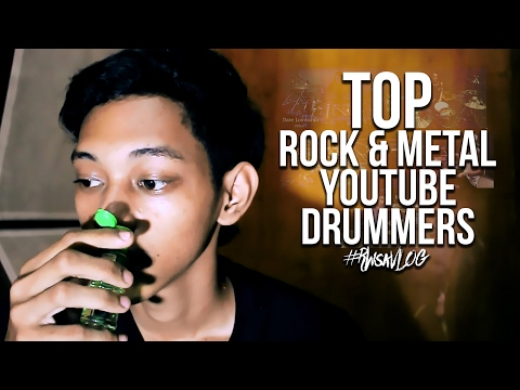 Top 5 Rock & Metal Youtube Drummers