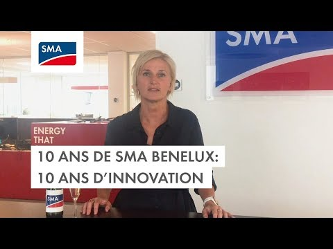 10 ans de SMA Benelux: 10 ans d'innovation
