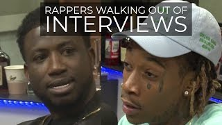 Video RAPPERS WALKING OUT OF INTERVIEWS MP3, 3GP, MP4, WEBM, AVI, FLV Agustus 2019