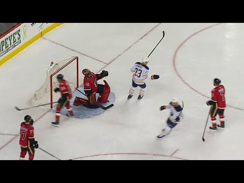 Video: Sabres' Wilson answers back just 24 seconds after Flames score