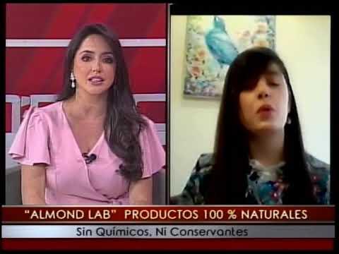 Almond Lab productos 100% naturales sin químicos, ni conservantes