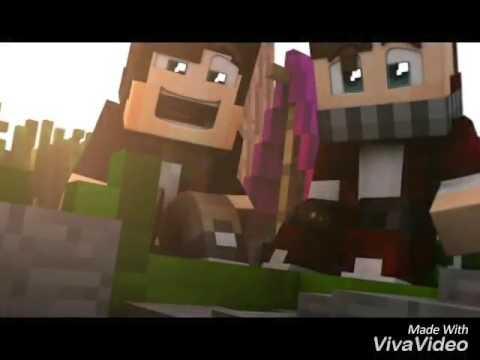 Bebeca x Adolfito who's your daddy en Minecraft (видео)