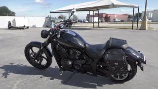 10. 003005   2011 Yamaha Stryker Raven   XVS13CABC - Used motorcycles for sale