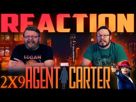 "Agent Carter 2x9 REACTION!! ""A Little Song and Dance"""