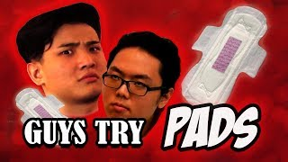 Video S-Periment: Guys Try Wearing Pads MP3, 3GP, MP4, WEBM, AVI, FLV Maret 2019