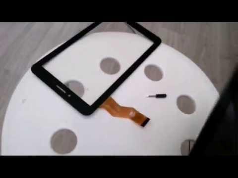 Как заменить стекло на планшете ирбис