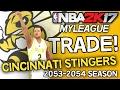 NBA 2K17 MyLEAGUE: Cincinnati Stingers (Season 38) - BLOCKBUSTER DEAL video download
