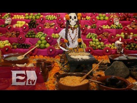 Platillos que no pueden faltar en el altar de Día de muertos / Vianey Esquinca