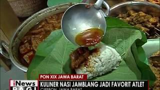 Nasi Jamblang, kuliner khas di Cirebon yang dicari para atlet PON XIX - iNews Pagi 22/09