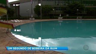 Acidentes em piscinas, cachoeiras e rios podem deixar sequelas para o resto da vida