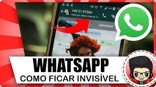 Baixar whatsapp - NOVO! Como ocultar o ''ONLINE