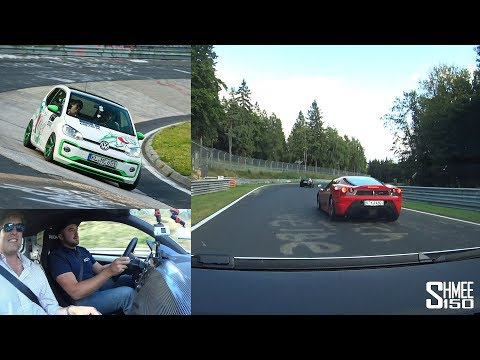 UPsetting A Ferrari! How To Drive The Nurburgring Nordschleife